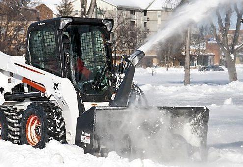 bobcat snow management